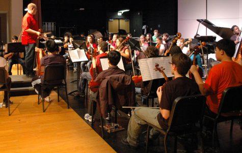 Winter Concert Rehearsal Gallery