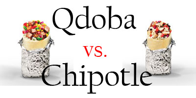 Qdoba and Chipotle are both favorites for Mexican fast food among RHS students. --Graphic by Robert Lee