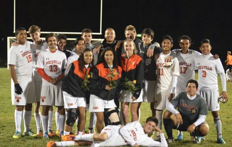 Varsity Soccer Senior Night