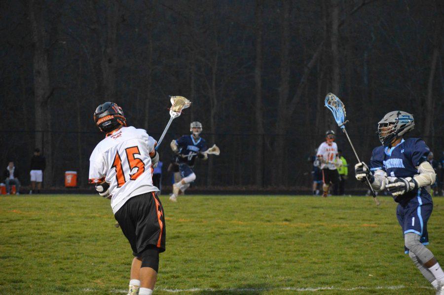 Senior+Corey+Williams+passes+the+ball