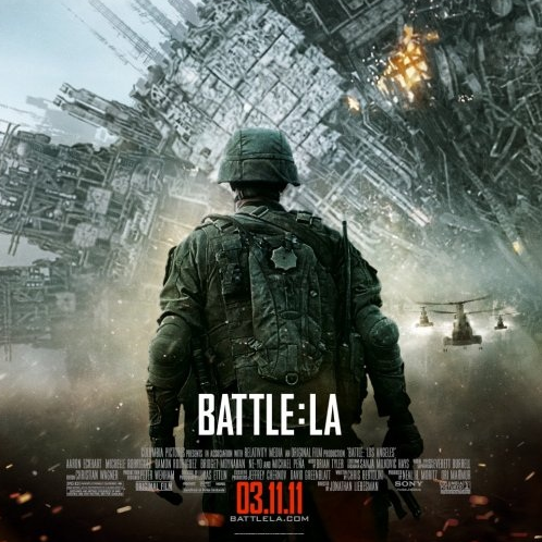 Battle Los Angeles Movie Poster -- Courtesy of Columbia Pictures
