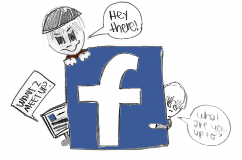 Who knows what sorts of things you will find on social networking sites like Facebook..be careful! -- Feriell Hayton