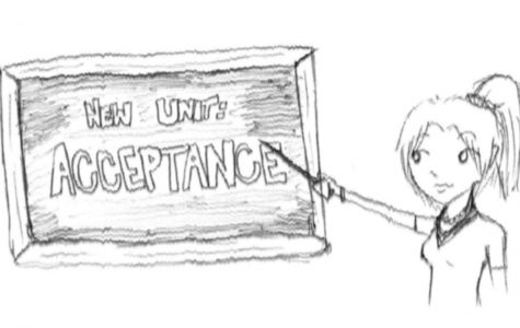 The new material in health classes teaches a new level of acceptance -- Graphic by Katie Winslow
