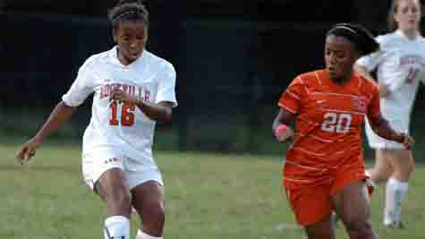 RHS Girls Soccer Game Oct. 4 Against Watkins Mill High School