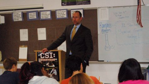 New Superintendent Visits Students