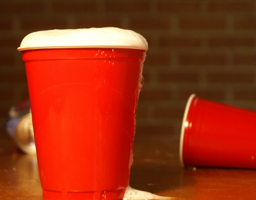 A+red+cup+is+a+symbol+of+underage+drinking%2C+but+not+its+consequences.+Photo+by+Rampage+Staff