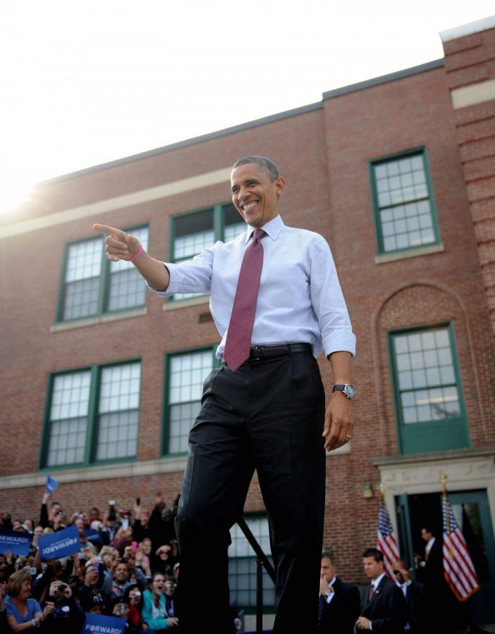 President+Barack+Obama+attends+a+campaign+rally+at+Elm+Street+Middle+School+in+Nashua%2C+New+Hampshire%2C+Saturday%2C+October+27%2C+2012.+%28Olivier+Douliery%2FAbaca+Press%2FMCT%29+--Courtesy+of+MCT+Campus