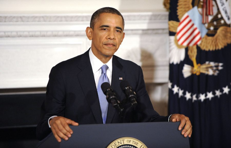 President+Barack+Obama+pauses+as+he+speaks+about+the+reopening+of+government+following+the+shutdown+during+a+news+conference+in+the+State+Dining+Room+of+the+White+House+in+Washington%2C+Thursday%2C+October+17%2C+2013.+Courtesy+of+MCT+Campus
