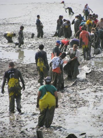 Alumnus Chris Brown Spends Summer at Fishery in Ekuk, Alaska