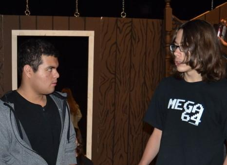 """Cast and Crew of """"The Crucible"""" Prepare for Opening Night"""
