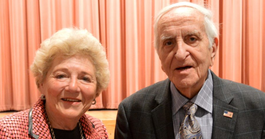 Halina+Peabody+and+Henry+Greenbaum+lived+in+Poland+during+World+War+II+and+suffered+throughout+the+Holocaust.+They+are+both+a+part+of+Portraits+of+Life%2C+an+organization+that+allows+Holocaust+survivors+in+Montgomery+County+to+share+their+stories+with+local+students.+--Elissa+Britt