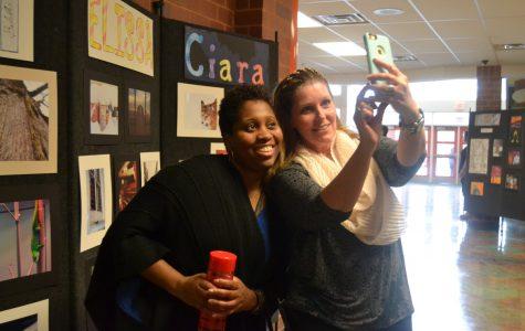 Senior Art Gallery Success For Writing, Art Students