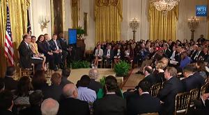 Khan-Baker Speaks At White House Worker Voice Summit