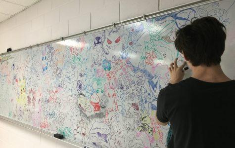 Gotta Draw 'Em All; Pokemon Mural Takes Off
