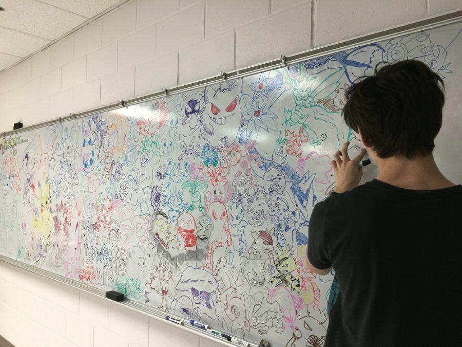 Gotta Draw 'Em All; Pokemon Mural Takes Off