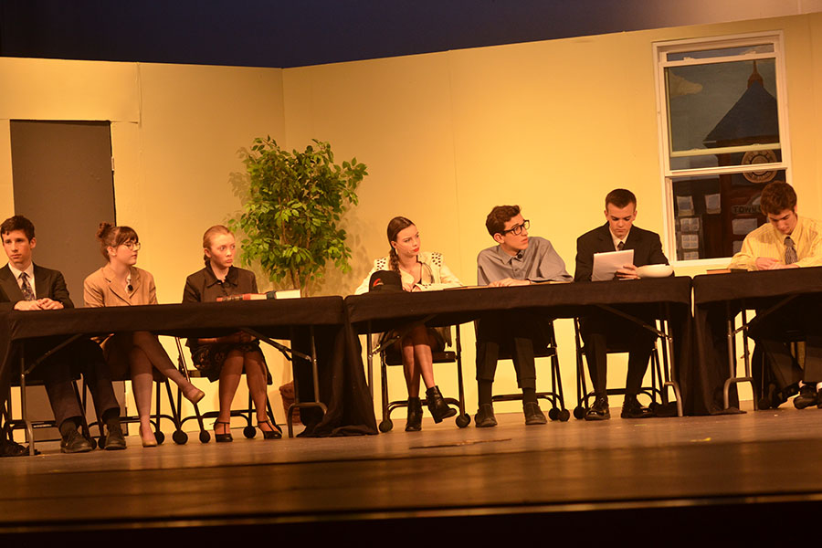 '12 Angry Jurors' opened Nov. 17 and performed two shows and a matinee.