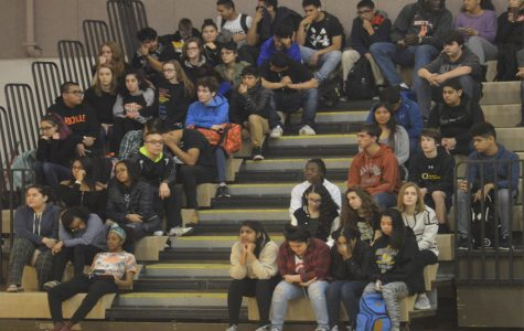 Students Join National Walkout, Gather in Gym