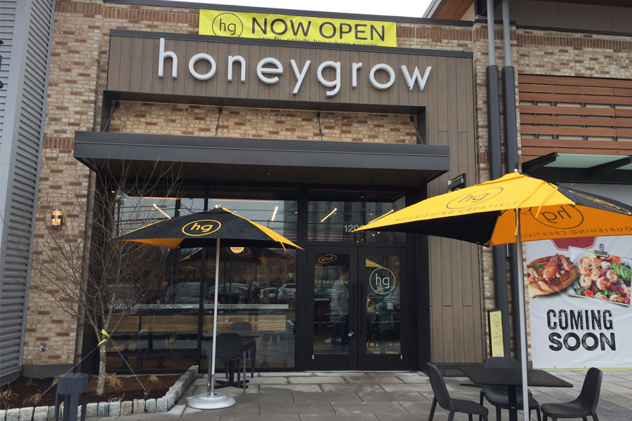 Honeygrow's Rockville Pike location opened in December.