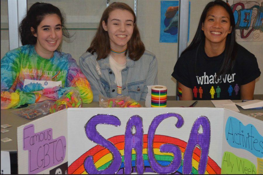 As sponsor of SAGA club, Tong spread LGTBQ+ Awareness.