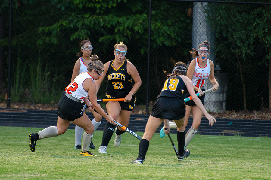 Varsity Field Hockey Shut Down by Rockets in Season Opener