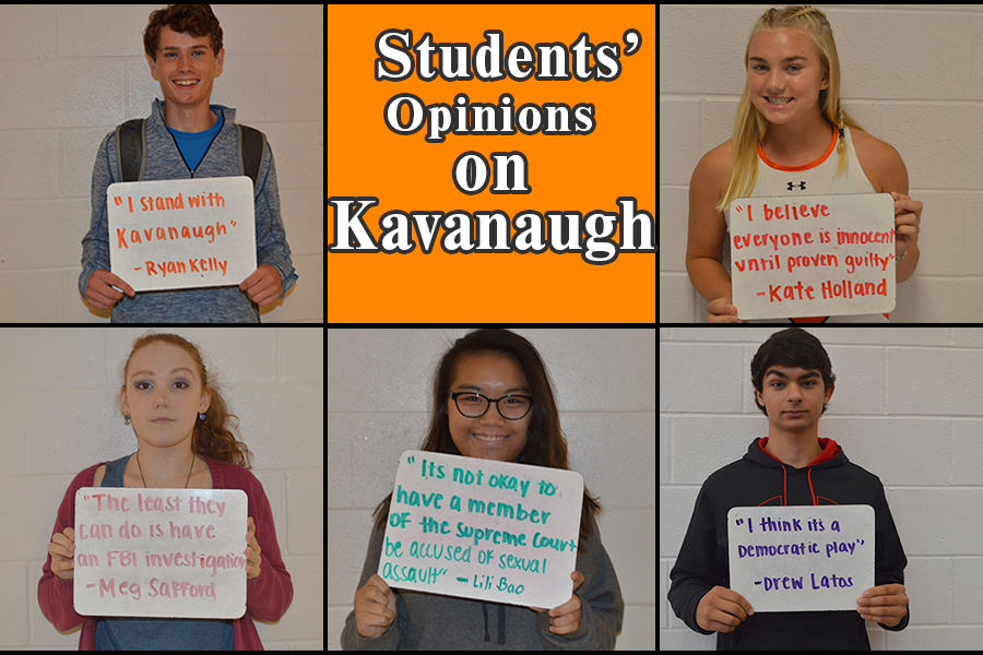 Students Respond to Kavanaugh Hearings, Accusations