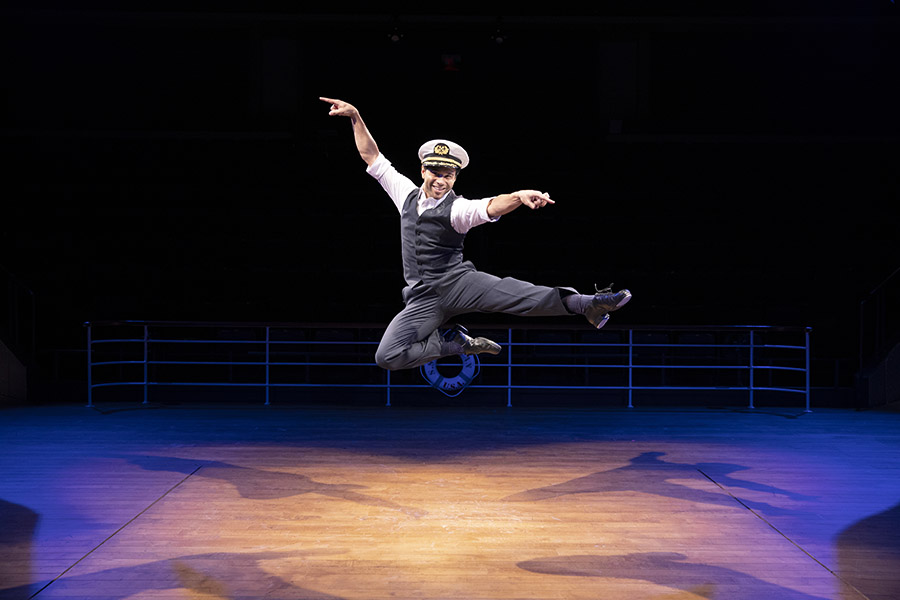 Broadway and 'High School Musical' actor Corbin Bleu played Billy Crocker in Arena Stage's production of the classic musical 'Anything Goes' Nov. 2- Dec. 23.