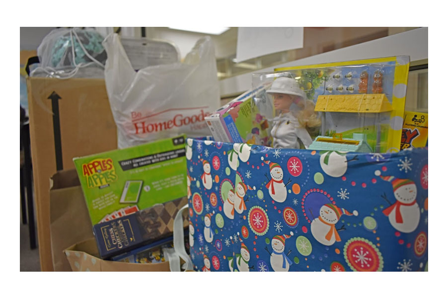 National Honor Society and the SGA collected donated toys, both wrapped and unwrapped,  for the city of Rockville through Dec. 14.