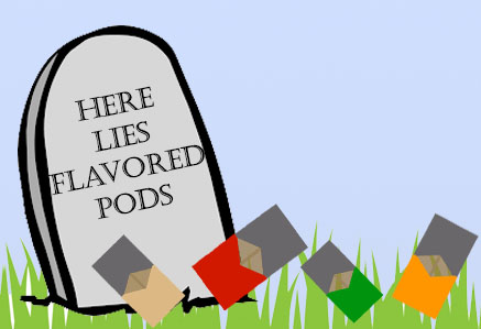 In response to increased teenage use the Federal Drug Administration banned many flavored pods, specifically the fruit flavored ones.