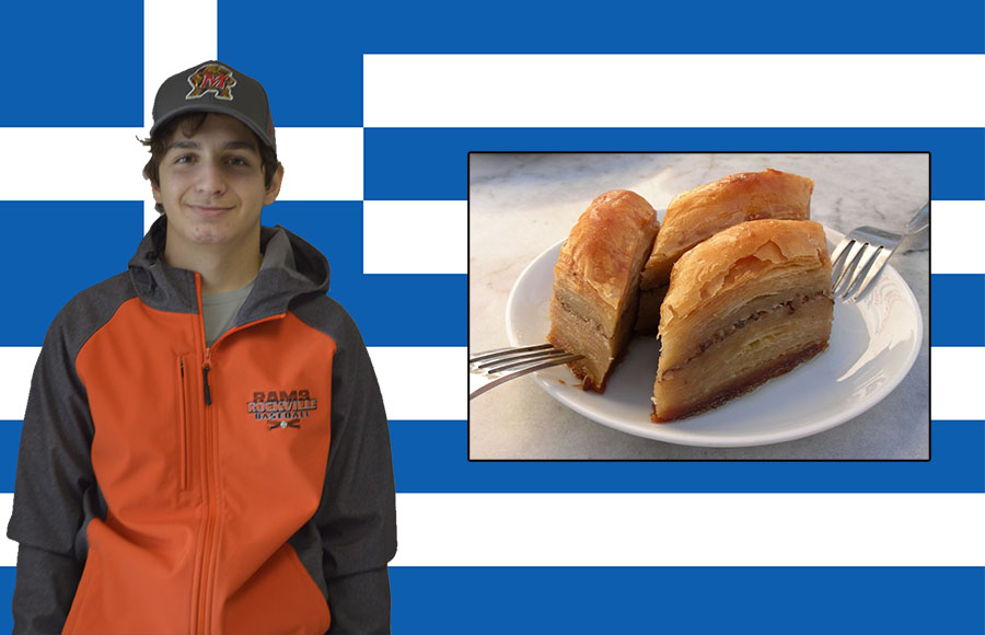 Senior Manoli Athanasakis said every year his family gathers for the holidays and each member is responsible for bringing a food item.