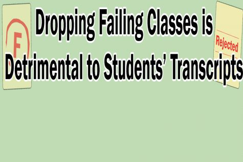 Students Should Think About Future Before Dropping Classes