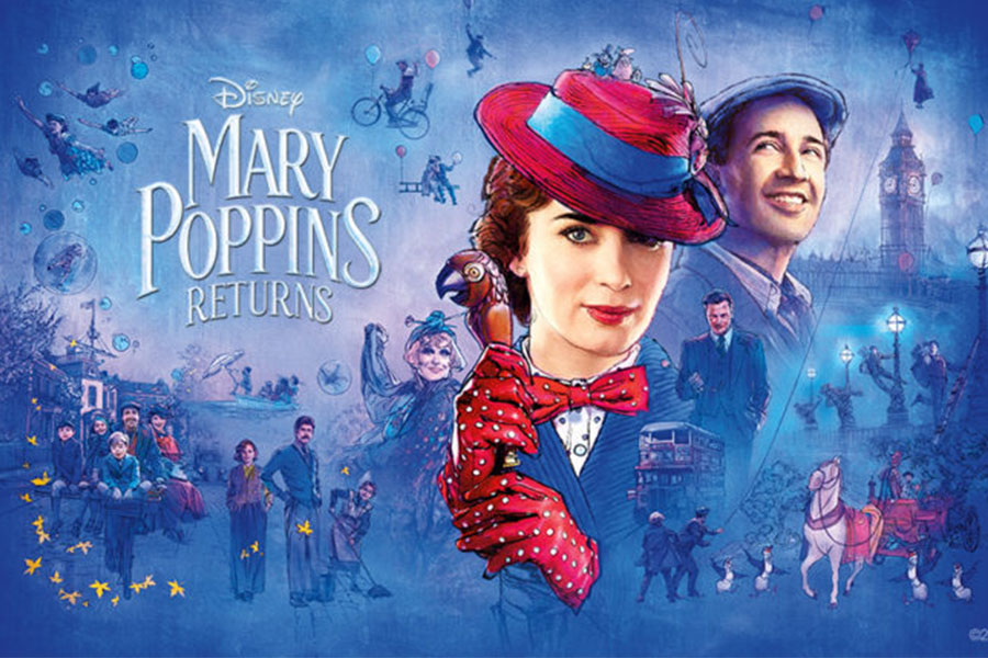 This newest version of the movie takes place 20 years after the original.  The plot is similar to the first movie as it has the same formula of Mary Poppins looking after the Banks children.