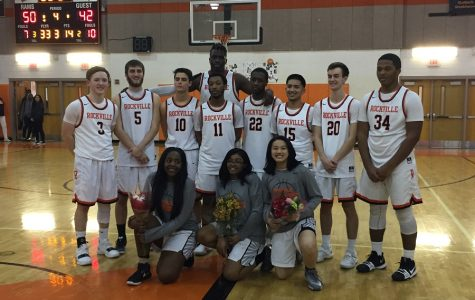 Varsity Basketball Teams Score Victory on Senior Night