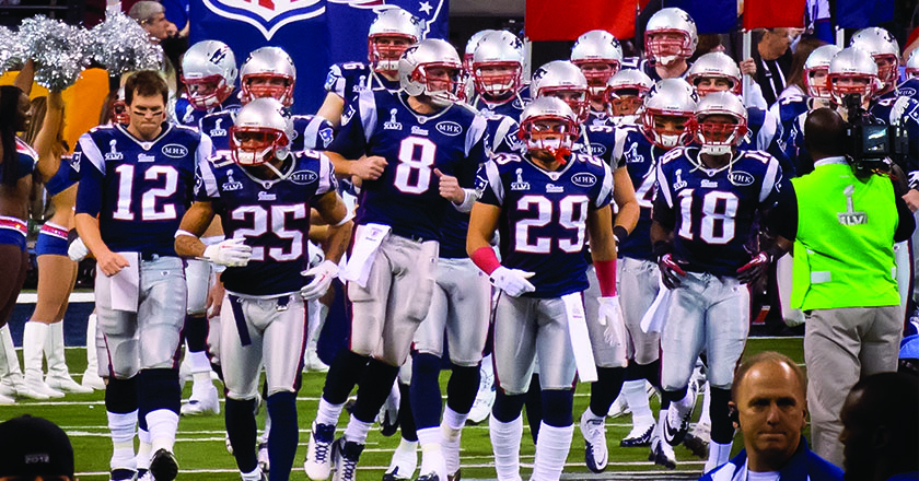 patriots walking out online
