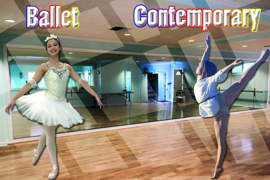 Seniors Anna Adhikari and Jocelyn Hartman have focused on dancing since their childhoods and dance competitively in their respective styles to this day.