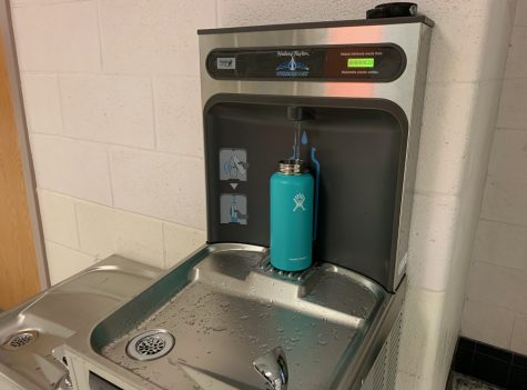 3 Additional Easy-Fill Water Stations Installed Throughout Building