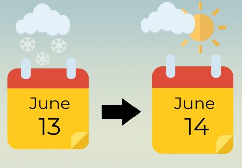 After a strong if inclement weather days caused by ice and snow, MCPS extended the school year from June 13 to June 14.
