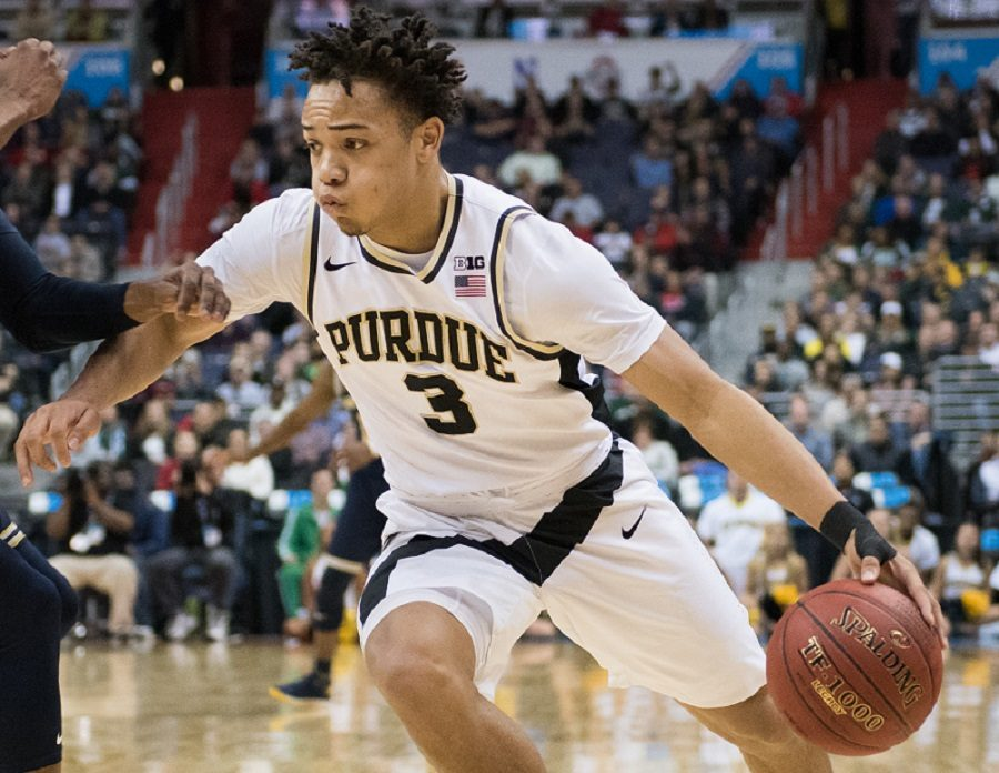 Purdue junior guard Carsen Edwards demonstrated strong shooting from the field averaging 34.7 points per game.