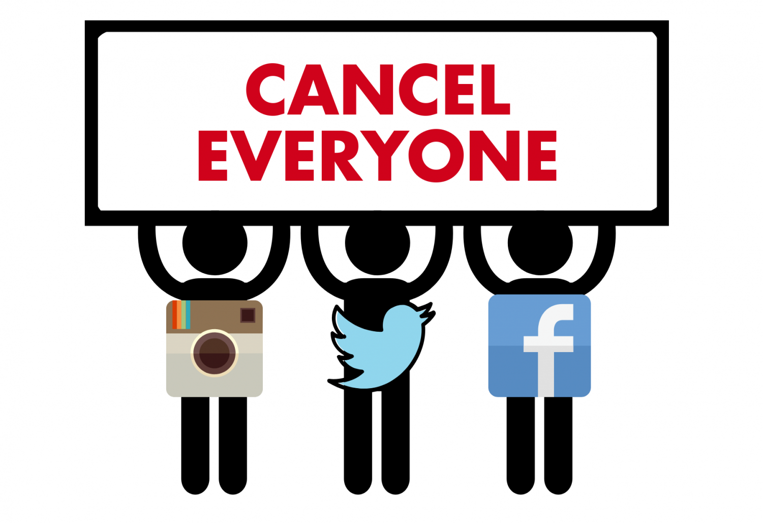 The detrimental psychological and moral effects of societies cancelled culture are heightened by social media.