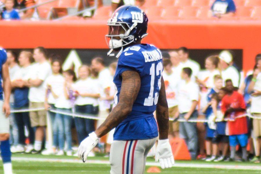 Wide receiver Odell Beckham Jr. was traded to the Cleveland Browns from the New York Giants earlier this spring, sending Jabrill Peppers to the Giants.