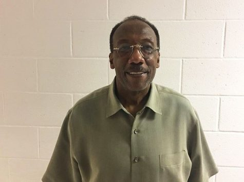 Substitute James Hopkins has been a regular sub at RHS, often for social studies and English classes.