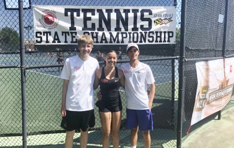 Students Win Girls Singles, Boys Doubles Tennis State Championship