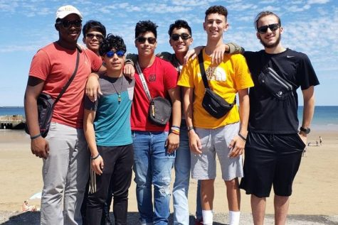 Twenty-one RHS students along with some faculty members traveled to London and France over the summer. One of the favorite activities was going to the Normandy beaches of France.