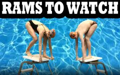 Rams to Watch: Swimmers Maeve Campbell, Toby Barnett