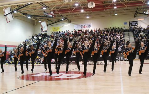 Poms Finish Season with Victory at Counties
