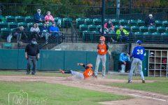 Rockville athlete, Sam Brami steps up to bat in club league game.