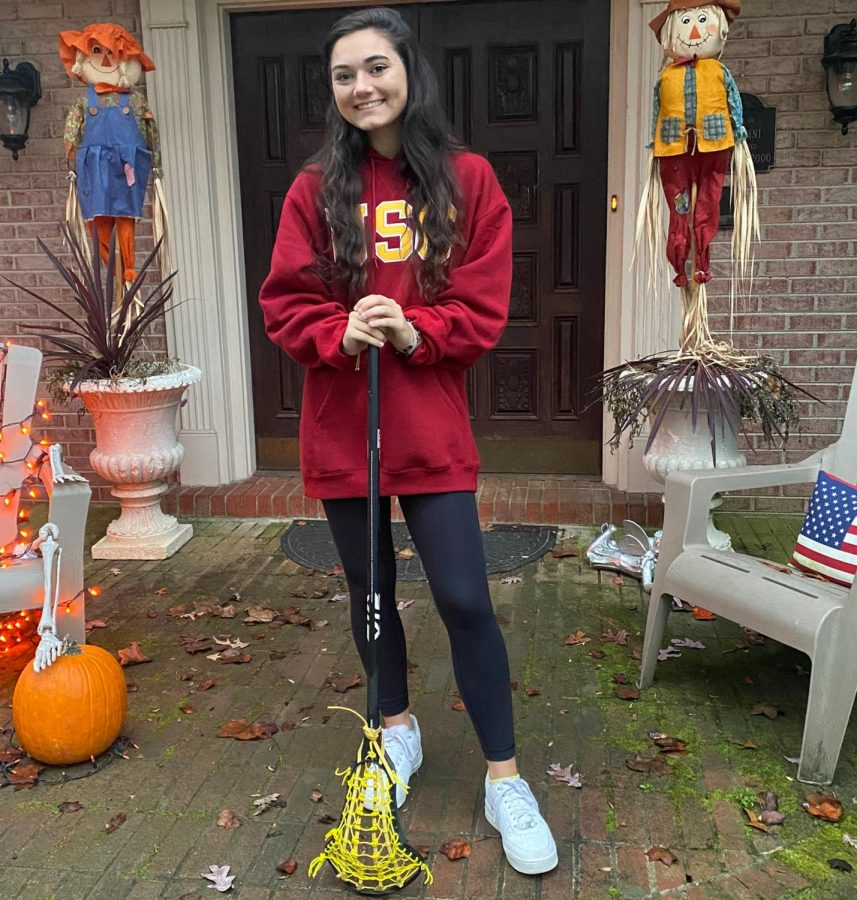 Junior lacrosse player at Bullis School, Ava Albertini recently committed to the college of her choice, in spite of the extended dead period.