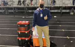 RHS athletic trainer, Rob Kambies, has a unique role supporting student athletes. Like many others, this routine has been upended by the pandemic.