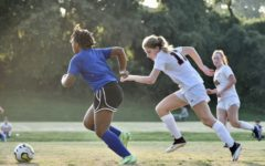 Freshman midfielder Anastasia Dakoulas (right) brings an energy to the game that delights her teammates.